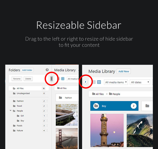 WordPress Media Library Folders - FileBase - 6